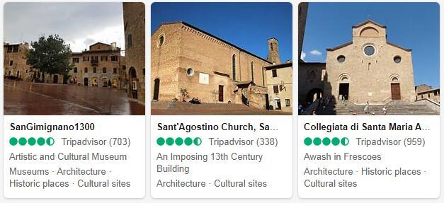 San Gimignano Attractions