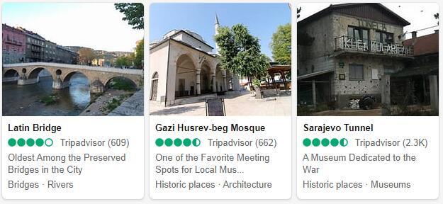 Sarajevo Attractions