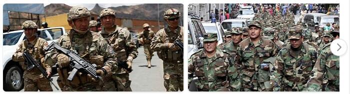 Bolivia Military