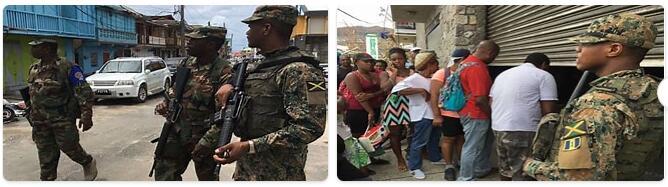 Dominica Military