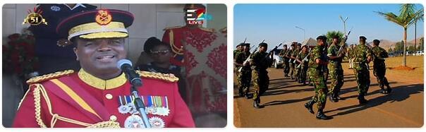 Eswatini Military