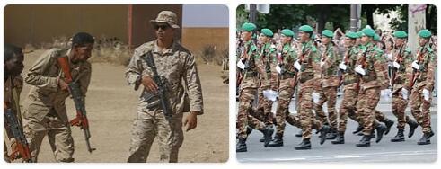 Mauritania Military