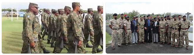 Saint Lucia Military
