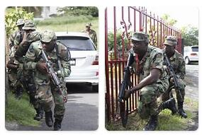 Saint Vincent and The Grenadines Military