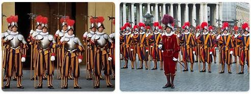 Vatican City Military