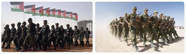 Western Sahara Military