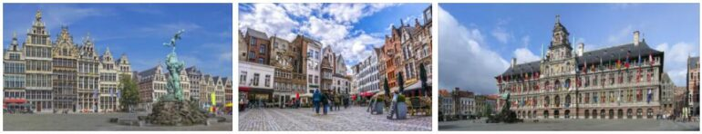 Antwerp, Belgium City History